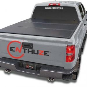 ENTHUZE HARD TRI-FOLD TONNEAU COVER FOR 02-08 DODGE RAM 6.5ft